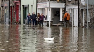 Kendal Town Council are calling for a bypass to solve traffic problems after Storm Desmond