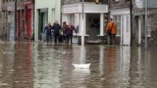 Flooding in Kendal following Storm Desmond