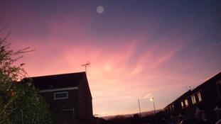 Norwich sunrise
