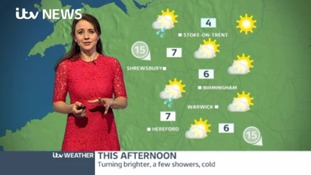 West Midlands weather: Sunny spells with some wintry showers