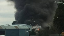 Crews tackle Lowestoft industrial estate blaze