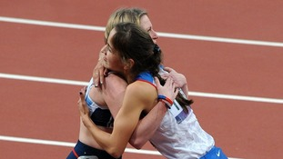 Hazel Robson and Elena Ivonova