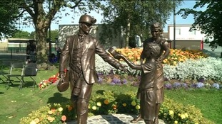 The new statue will remind people of Washington's rich mining past.