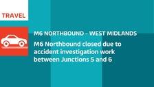 M6 closure