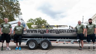 Nigel Rogoff is part of the 'Row2Recovery' team