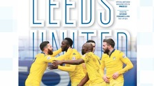 Leeds Utd programme issue 16b for superstitious Cellino