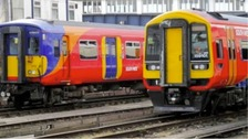 Two train companies bid to take over South West Trains franchise