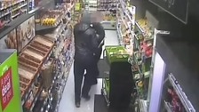 CCTV released of attempted robbery with iron bar