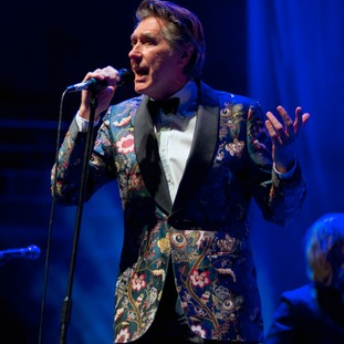 Bryan Ferry performs at the Symphony Hall, Birmingham