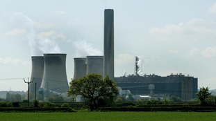 Fiddler's Ferry power station near Warrington