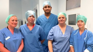 UK first for keyhole surgery that leaves virtually invisible scars