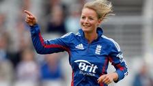 England's Danielle Wyatt in 2012