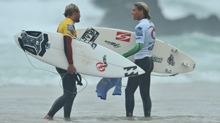 The festival attracts surfers from all over the world who come to compete