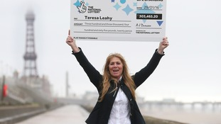 Teresa Leahy, 51, won over £303k after matching five numbers and one Lucky Star