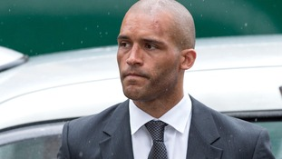 Clarke Carlisle arrives for sentencing at Highbury Magistrates Court in London after he pleaded guilty to a drink-driving charge in 2015