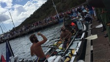 Amputee rowing team make history and finish 'world's toughest row'