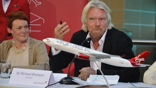 Julie Southern/Sir Richard Branson
