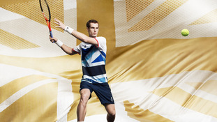Andy Murray in new Olympic kit