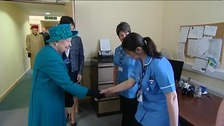 Queen congratulates local hospice on 30 years of service