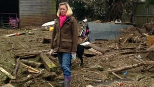 She and her family were forced to leave their Moorland home in February
