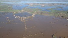 The Somerset Levels were flooded for weeks