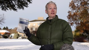 Julian Assange stayed at Ellingham Hall in Norfolk in December 2010 as part of his bail conditions.