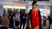 Fashion catwalk at Spring Fair