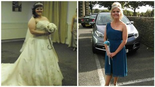 Bride of 15 stone drops eight dress sizes to be a bridesmaid