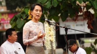WGAD ruled in favour of Aung San Suu Kyi in her case over unlawful detention.