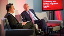 Star studded evening with Sir Alex Ferguson