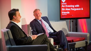 Star studded evening with Sir Alex Ferguson