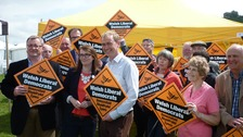Farron sets Swansea lagoon test for Cameron