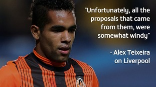 Teixeira: I wanted move to Liverpool but the concrete offer came from China