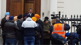 The family of Paramjeet Singh have been in the embassy speaking with Portuguese authorities