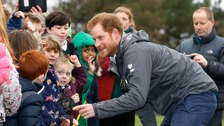 Prince Harry's jeans fail to impress children during floods visit