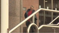 David Rathband's sister Debbie Essery at court on January 15th