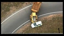 Dramatic footage shows dumper truck chase across Norfolk and Suffolk