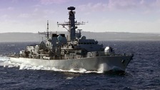 The HMS Somerset scooped the award for top frigate.