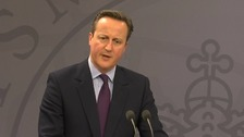 David Cameron said he would take the time to secure a good deal for the British people.
