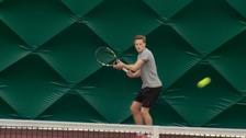 Scott Clayton training in Jersey