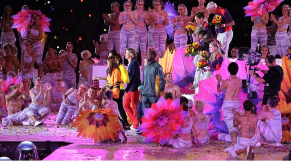 Games Volunteers are thanked by Athletes during the Closing Ceremony of the Olympic Games