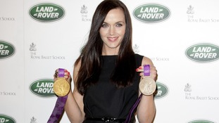 Victoria Pendleton is looking forward to the glamour