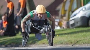 Wheelchair Athlete set to break world record in Lands End to John O'Groats journey