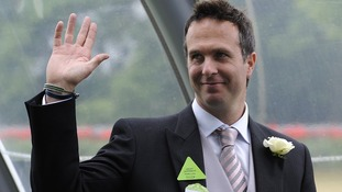 Former England cricket captain Michael Vaughan during Day Two of the 2011 Royal Ascot