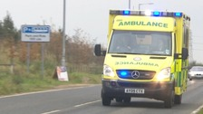 A crew from the East of England Ambulance Service.