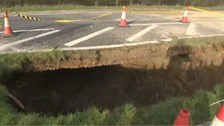 Sinkhole nightmare over as A249 fully re-opens