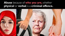Hate crime campaign launched by Northumbria Police