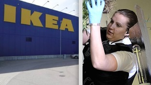 Police officer sacked after stealing cabinet from IKEA
