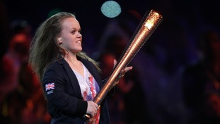 Ellie Simmonds during the Closing Ceremony