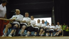Tug of war championships come to Huddersfield